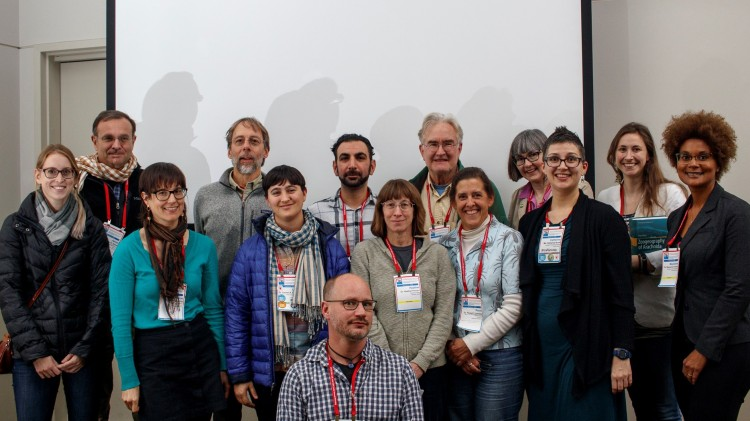 ESC-ESA Arachnology symposium speakers group photo 14 Nov 2018