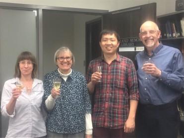 HP, Cindy Paszkowski, ZS and Al Shostak.